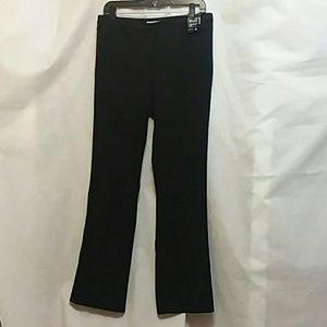 NWT NY & Co 7th Ave Pant Black Straight Leg